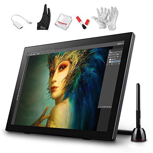parblo coast2221.5Inch Pantalla Digital Pen Tablet gráfica Dibujo Monitor con Taladro Baterías Pen + Protectora de Pantalla + Protector Pantalla + Kit de Limpieza