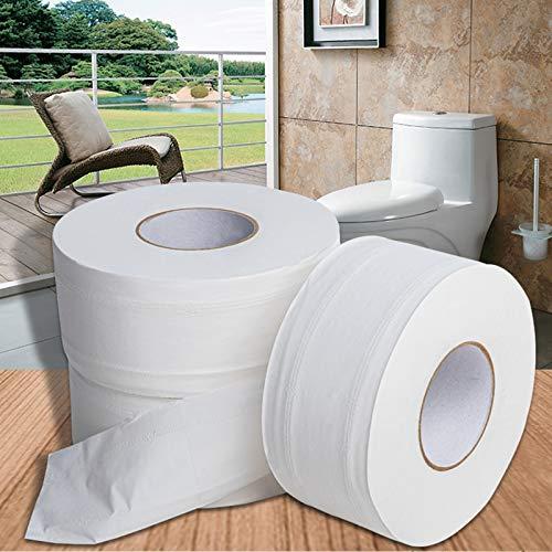 JEANNELIFE toiletpapierrol Jumbo 4 lagen hout native toiletpapier zacht papier zelfgemaakt tolietpapier sterk waterabsorberend