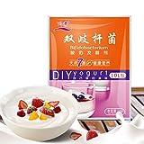 Youliy 10 g Bifidobacterium Yogurt Starter, 1g-1l, bolsitas para yogur liso estilo Balcane