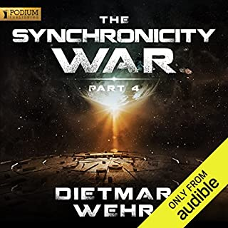The Synchronicity War, Part 4                   By:                                                                                                                                 Dietmar Wehr                               Narrated by:                                                                                                                                 Luke Daniels                      Length: 8 hrs and 29 mins     18 ratings     Overall 4.8