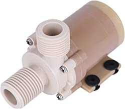 Yosoo Solar DC 12V Hot Water Circulation Pump Brushless Motor Water Pump 3M Low Noise csf (DC 12V)