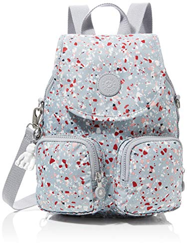 Kipling Firefly Up Women's Backpack, Multicolour (Speckled), 22x31x14 Centimeters (B x H x T)