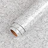 LaCheery 160 x 36 inch Granite Contact Paper for Countertops Waterproof Wallpaper Peel and Stick Countertop Contact Paper Removable Self Adhesive Wall Paper Roll for Kitchen Island Table Counter Paper