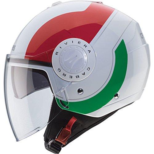 Caberg Riviera V3 Sway Italia Open Face Motorcycle Helmet M Italia