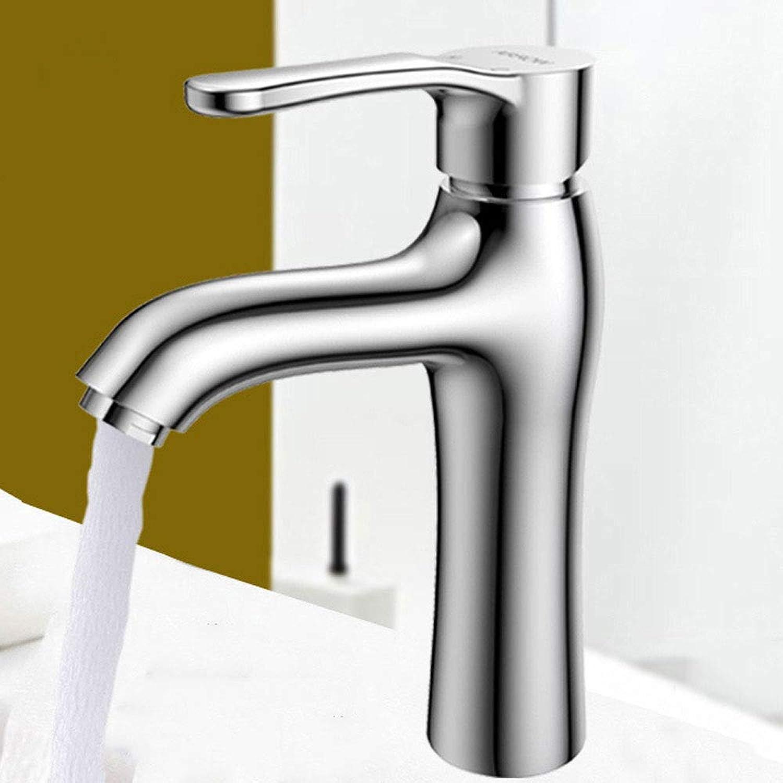 Ppigle Bathroom Basin Faucet Wash Basin Faucet Hot And Cold Copper Single Hole Bathroom Wash Basin Basin Faucet (Size   A)