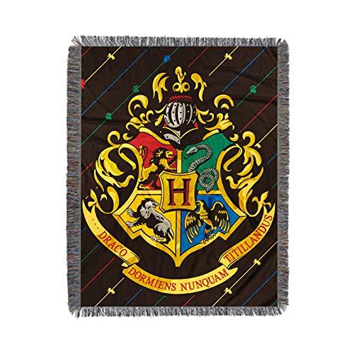 Hogwarts - Banderas de Pared para Sofá, Decoración Del Hogar, 114,8 x 149,9 cm (cuatro universidades)