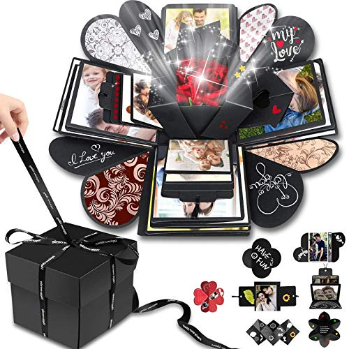 Wanateber Creative Explosion Gift Box, DIY - Love Memory, Scrapbook, Photo Album Box, as Birthday...