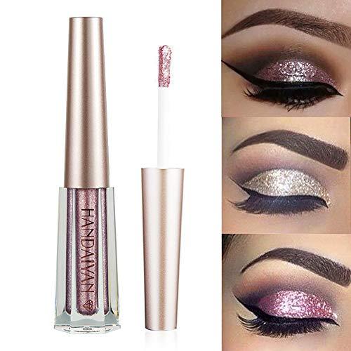 GL-Turelifes Sombra de ojos líquida con purpurina Lentejuel