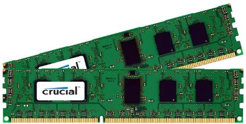 Crucial 4GB Kit (2GBx2) DDR3-1600 MT/s (PC3-12800) Non-ECC UDIMM 240-Pin Desktop Memory CT2KIT25664BA160B / CT2CP25664BA160B