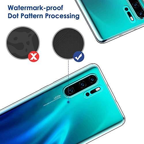 Seomusen Handyhülle Kompatibel mit Huawei P30 Pro Durchsichtige,TPU Transparent Huawei P30 Pro Hülle,Neueste Staubdichtes Design Crystal Klar TPU Case Backcover Schutzhülle für Huawei P30 Pro - 6