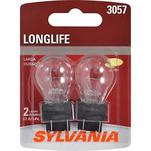 SYLVANIA 3057 Long Life Miniature Bulb, (Contains 2 Bulbs)