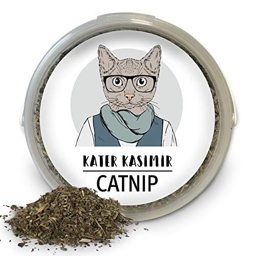 Katzenminze (Catnip) 60g XXL Dose, Premium-Qualität aus Kanada. Zum Befüllen von...