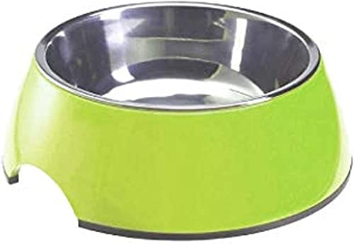 Goofy Tails | Stainless Steel and Melamine | Anti Skid Bowls for Dogs and Cats | Food grade ( Water & Food Bowl) (XS-...
