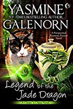 Legend of the Jade Dragon: A Paranormal Women's Fiction Novel (Chintz 'n China Book 2)