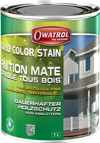 Owatrol Solid Color Stain 1 ltr. (Schwedenrot)