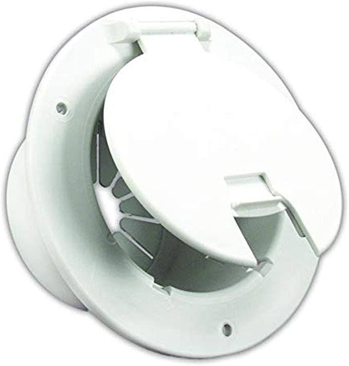 E7132-A Access Door RV Trailer JR PRODUCTS Electrical Hatch Polar White
