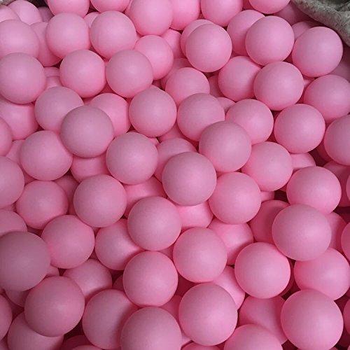 Yoran Bier-Ping-Pong-Ball-sortierte Farbe pp. Tischtennis-Ball-Spiel, das Haustier-Ball 150pcs Rosa spielt