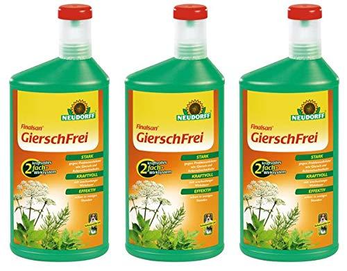 Neudorff Finalsan GierschFrei 3 l - Konzentrat Spezial-Unkrautvernichter gegen Problemunkräuter wie Giersch und Ackerschachtelhalm