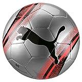 Puma Big Cat 3 Ball Ballon De Foot Adulte Unisexe, Silver-NRGY Red Black, 4