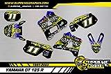Kit Adhesivos Mate Yamaha DT 125 R 1991 2003 ADESIVI Sticker KLEBER AUFKLEBER