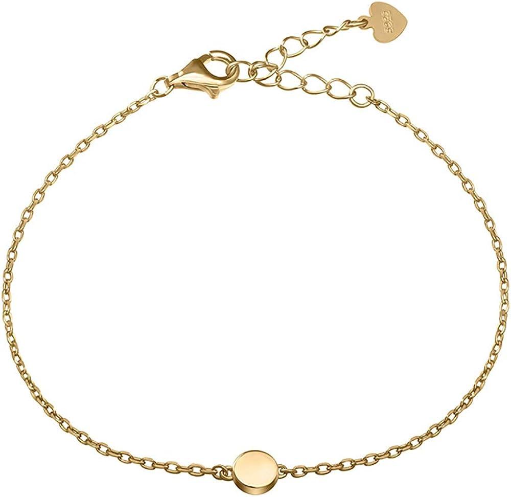 Meow Star Sterling Silver Bracelet Chain Bracelet Minimalism Bra