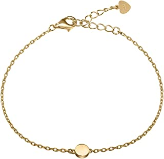 Meow Star Sterling Silver Bracelet Chain Bracelet Minimalism Bracelet for Women 14k Gold and Rose Gold Plated