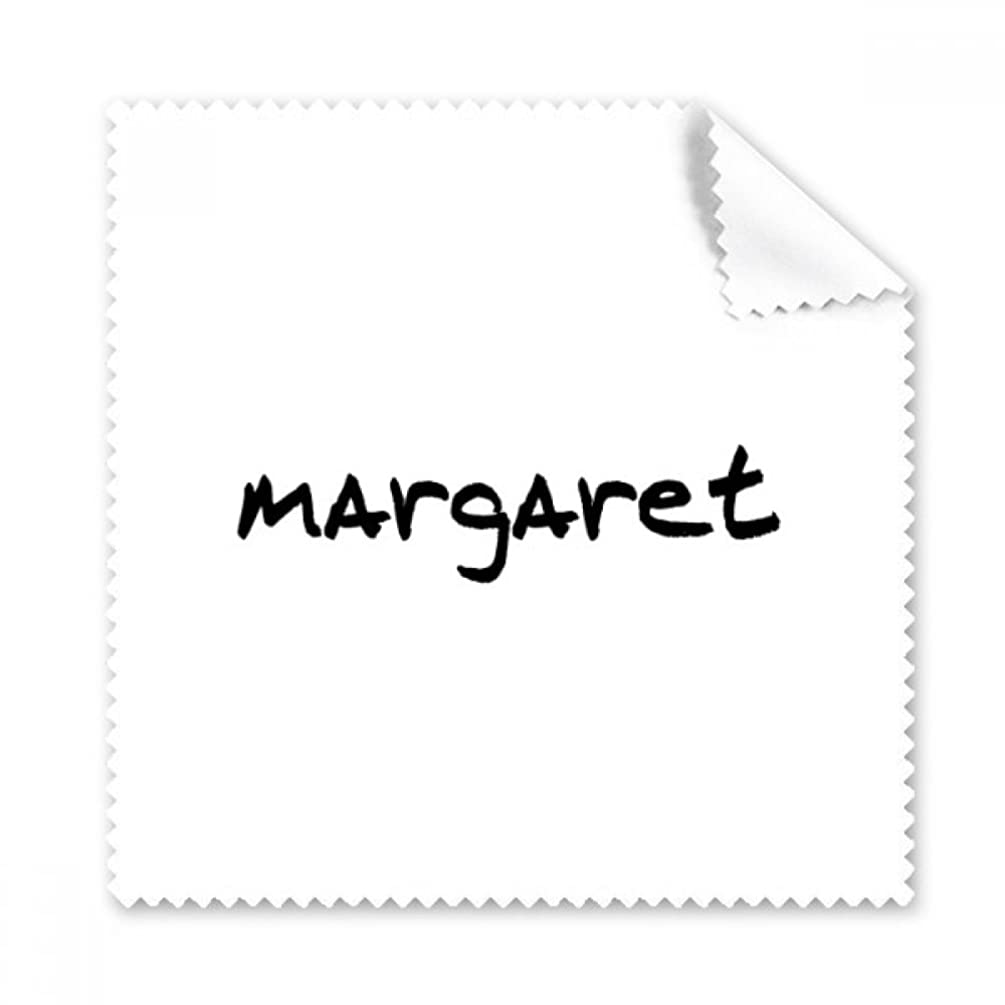 Special Handwriting English Name MARGARET Glasses Cloth Cleaning Cloth Gift Phone Screen Cleaner 5pcs