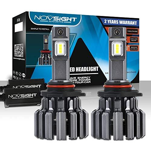 Faros LED Bombilla 90W 14400LM H4 H7 H11 Bombillas de Faros de Coche 6000K LED Kit de Conversión Reemplace para Bombillas de Halogeno