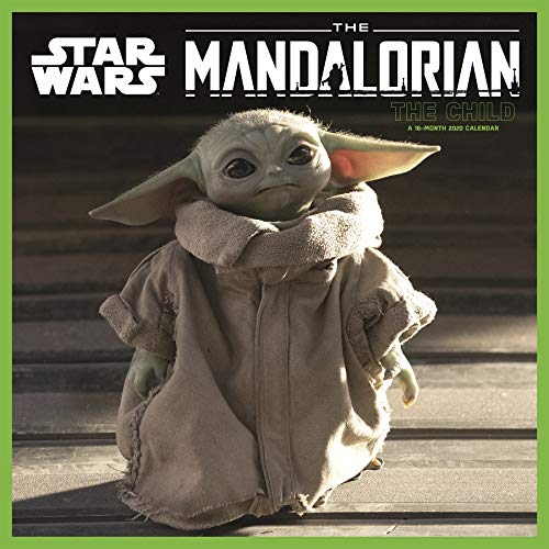 Star Wars The Mandalorian - The Child - 2020 Wall Calendar