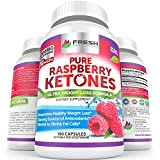 Pure 100% Raspberry Ketones MAX 1000mg Per Serving  3 Month Supply  Powerful Weight Loss Supplement  Provides Energy Boost for Weight Loss  180 Capsules by Fresh Healthcare