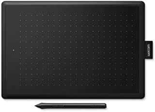 Wacom CTL-472 One Graphic Tablet with Pen, Black