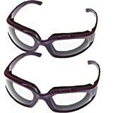 KXXL Durable Windproof Dustproof Onion Goggles profesional Durable luz peso cebolla cebolla gafas...