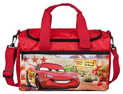 Scooli CAGR7252 Sporttasche Disney Pixar Cars, ca. 35 x 16 x 24 cm