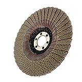 F Fityle Disco Abrasivo de Diamante Húmedo/Seco de 4'/ 5' Almohadilla de Pulido para Piedra de Mármol de Granito - 115m m 200grit
