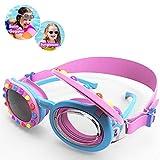 Ator, occhialini da nuoto per bambini, K5, 2 in 1, anti-appannamento, protezione UV, cingh...