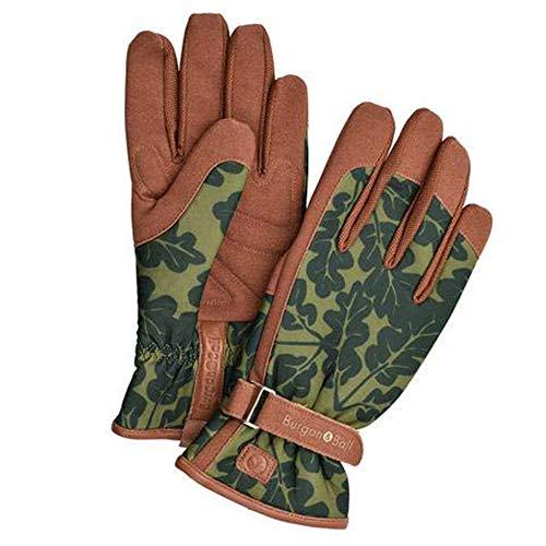 """Burgon & Ball """"Love The Glove"""" Garten-Handschuhe für Damen, Eichenblatt, verschiedene Größen, S/M, Eichenblattmoos, 1"""