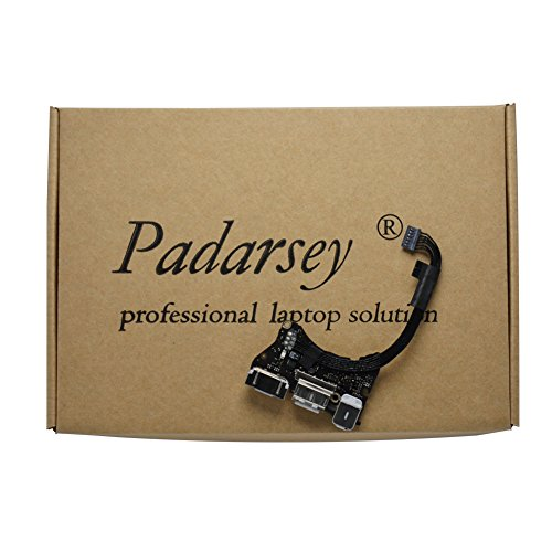 "Padarsey (923-0430) I/O Board w/USB, Audio, DC-in 2 Compatible for MacBook Air 11"" A1465 (Mid 2013, Early 2014, Early 2015)(Notice:NOt for A1466 MacBook AIR 13 INCH)"