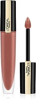 L'Oréal Paris Flytande läppstift med matt finish, ultralätt och högpigmenterat bläck läppstift, rouge Signature, nr 116 I ...