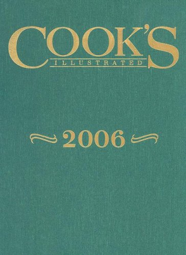 Cook's Illustrated 2006 - Book  of the Cook's Illustrated Annuals