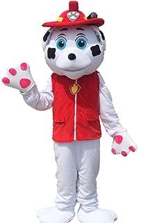Paw Patrol Mascot Costume Marshall Mascot Costume