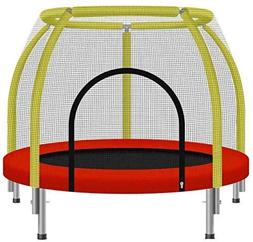 YAOJIA Cama elástica Mini Fitness trampolín for los niños/niño Rebounder el trampolín con la manija y la Cubierta de la Cerca por Entrenamiento Jardín Ejercicio Cardio