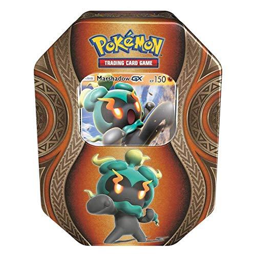 Pokemon 25931 Pokémon Company International 25931-PKM Tin 70 Marshadow GX, bunt
