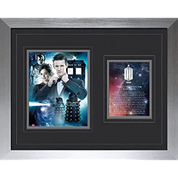 GB eye LTD Wood Multi-Colour Doctor Who Hide Framed Print 30 x 40 cm