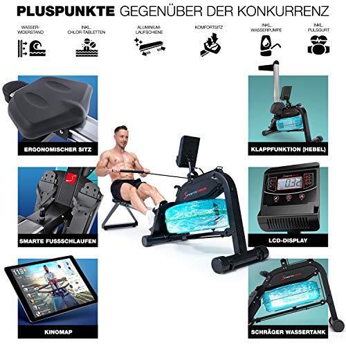 Sportstech WRX 400 Premium Wasser Rudergerät Überblick