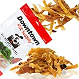 Downtown Pet Supply Natural Beef Tendons, Single Ingredient, Alternative to Bully Sticks, Healthy Dog Treats, 4 inch - 7 inch Long (5 Pack)