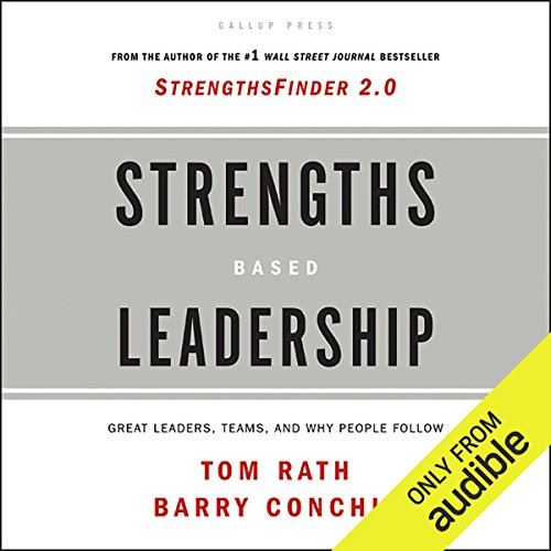 Strengths Based Leadership audiobook cover art