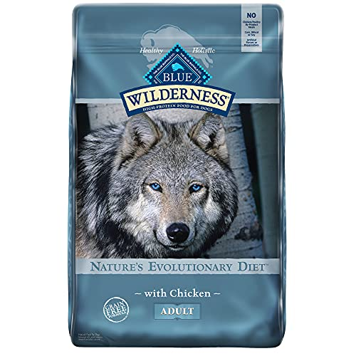 Blue Buffalo Wilderness High Protein, Natural Adult Dry Dog Food,...