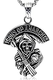 Sons of anarchy ensemble de patchs sAMCRO logo ring