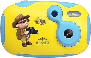 Cámara para niños Cámaras Digitales niños de vídeo digital videocámara selfie Acción cámara de 2 millones de píxeles for niñas y niños Juguetes regalos de los niños Cámaras digitales para niños