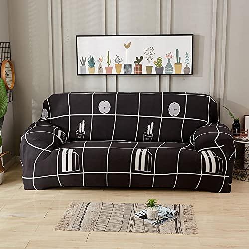 Fundas Antideslizantes Todo Incluido, seccional, elástico, Completo, para sofá, Toalla, sofá, Funda para sillón, sofá de Esquina A13, 2 plazas